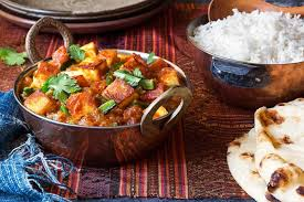 Paneer Dish with Rice